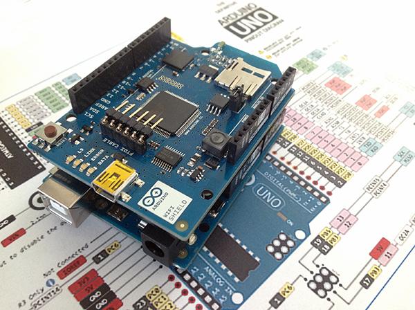 Arduino wifi shield update firmware mauro alfieri