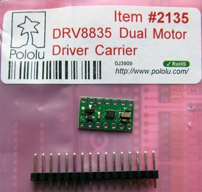 bionic hand DRV8835 confezionato