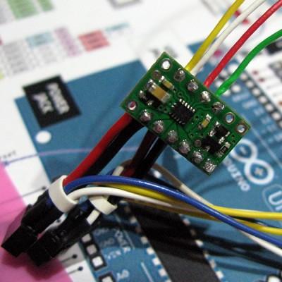 bionic hand DRV8835 controllo arduino