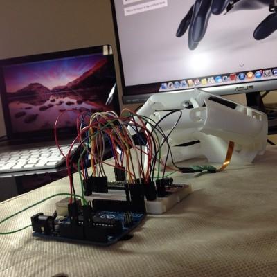 bionic hand DRV8835 youbionic