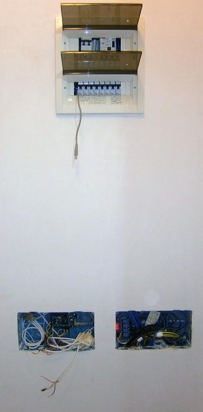 impianto luce MEGA montato