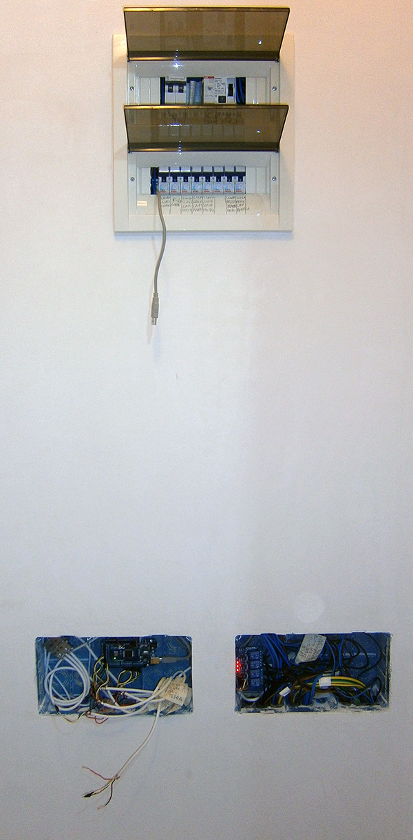 Schema Elettrico Per Domotica : Impianto luce mega di pietro mauro alfieri domotica robotica arduino