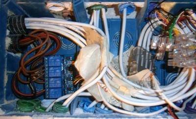 impianto luce MEGA cassetta