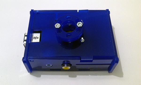 box babymonitor camera noir illuminatore