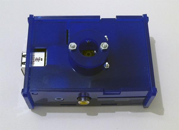 box babymonitor camera noir obiettivo