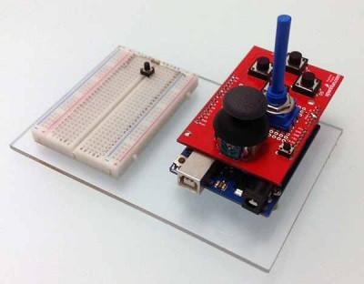 joystick shield potenziometro