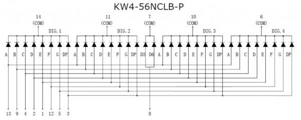 Anemometro a coppe portatile KW4-56NCLBP