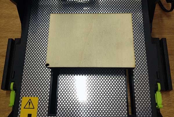 iModela Creator PCB piano basetta legno