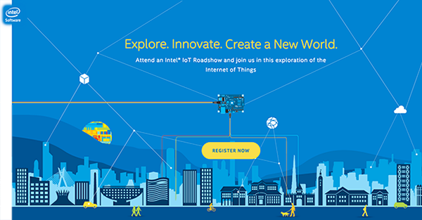 Intel® IoT Roadshow banner