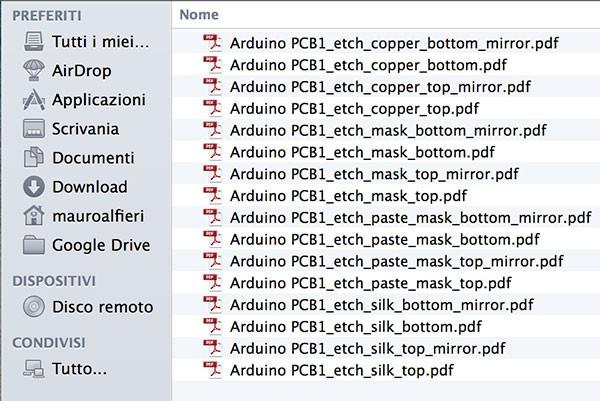PCB Fritzing to iModela file list