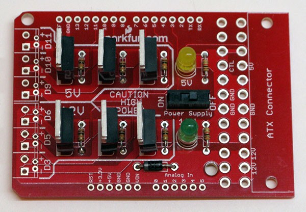 Power Driver Shield mosfet