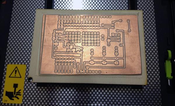 iModela Creator PCB circuit