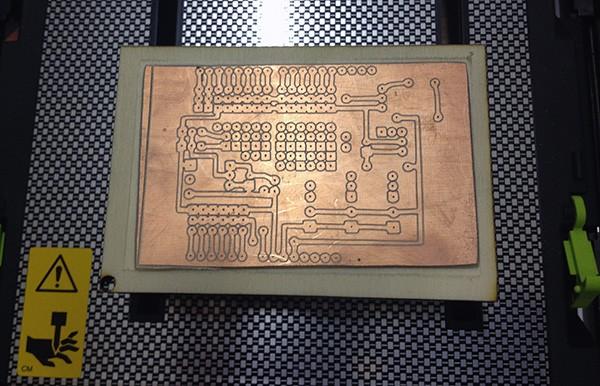 iModela Creator PCB circuit end