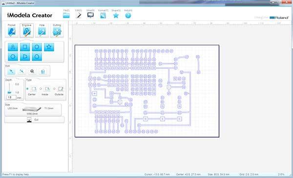 iModela Creator PCB schema