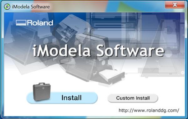 iModela Sw install