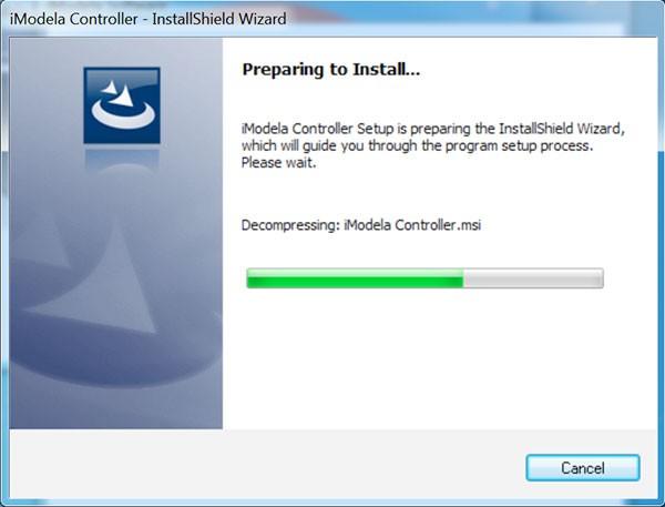 iModela Software install Controller