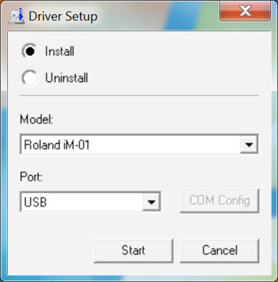 iModela Software install Driver setup