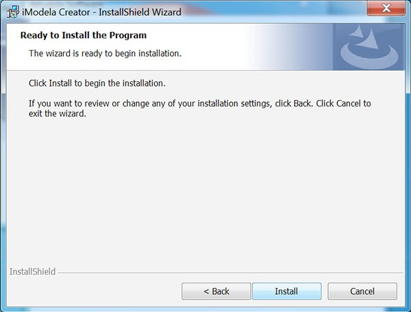iModela Software install iCreator ready to