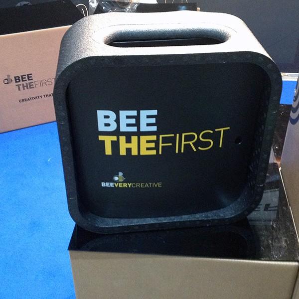 BeeTheFirst packaging