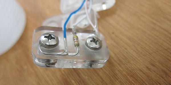 Sensore EC montato