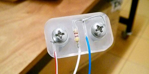 Sensore EC resistenza 470ohm