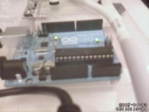 remote raspbian control arduino noir camera web