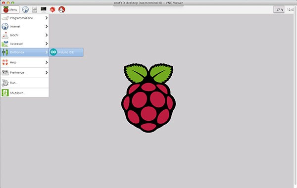 remote raspbian control arduino open ide