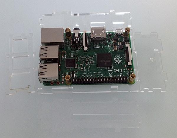 Box Rasperry Pi 2 fori