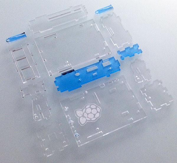 Box Rasperry Pi 2 laser cut