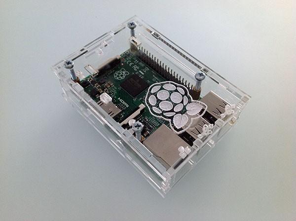 Box Rasperry Pi 2 montato