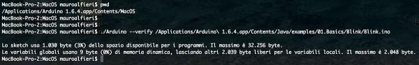 arduino IDE 1.6.4 CLI verify