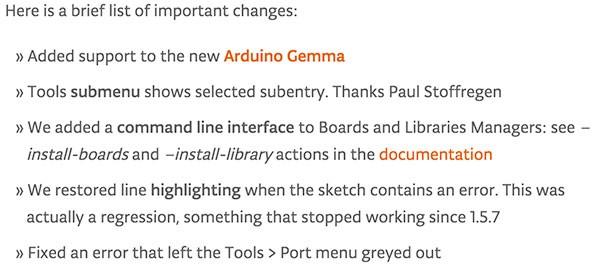 arduino ide 1.6.4 disponibile blog