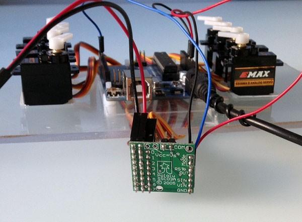 Micro Serial Servo Controller Pololu