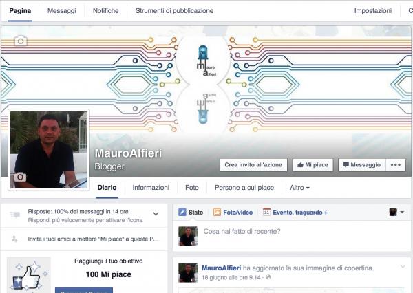 pagina FB mauroalfieri.it