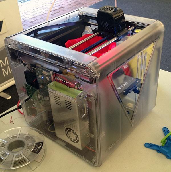 robot makers novegro FabTotum sperimental