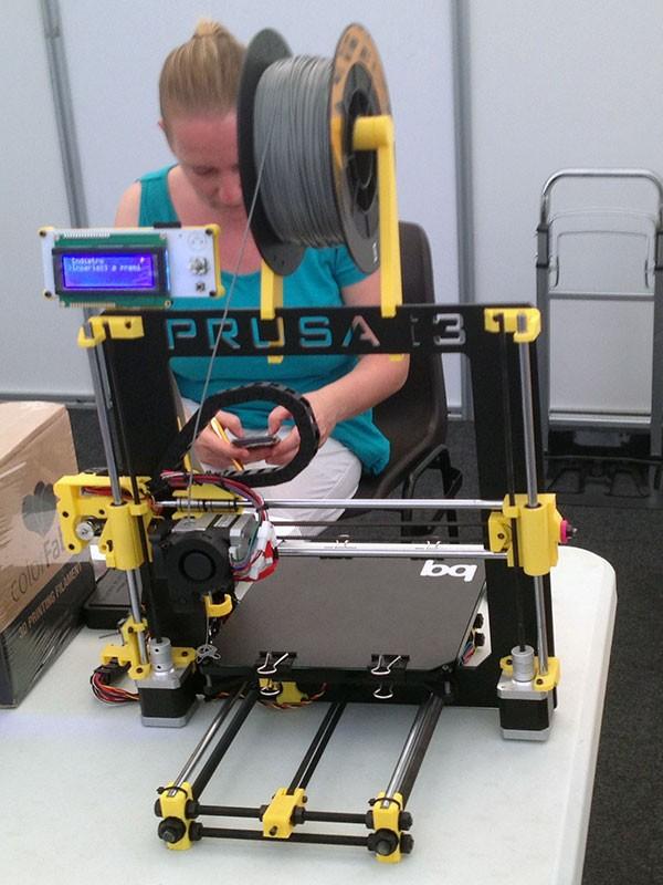 robot makers novegro prusa i3 BQ