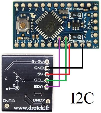 10 DOF Connessione ProMini
