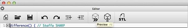 OpenSCAD Update Preview