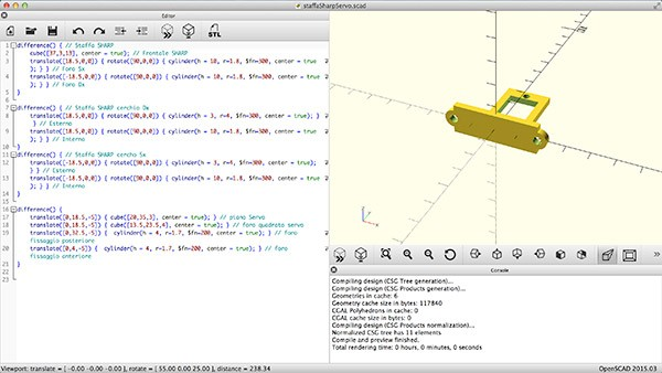 OpenSCAD Update new interface