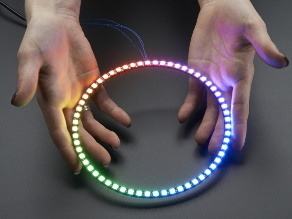 Neopixel Ring Watch