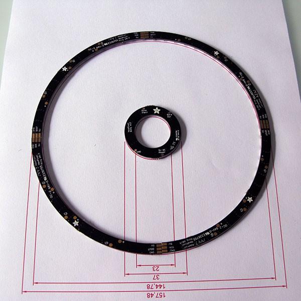 Neopixel Ring Watch posizione