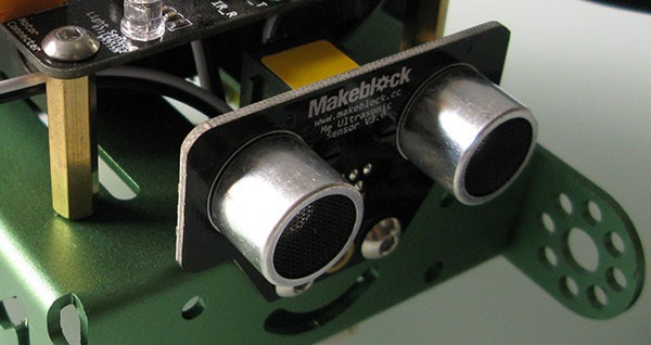 mBot makerblock distance sensor