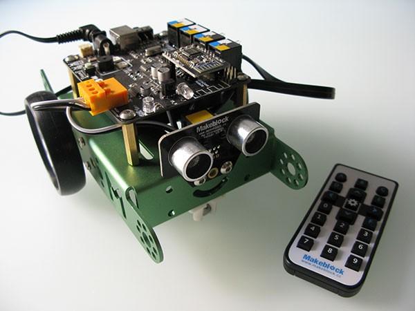 mBot makerblock robot ir