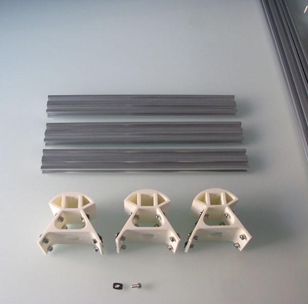 Base inferiore struttura delta componenti