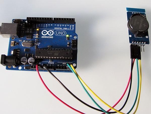 RTC DS3231 arduino connesso