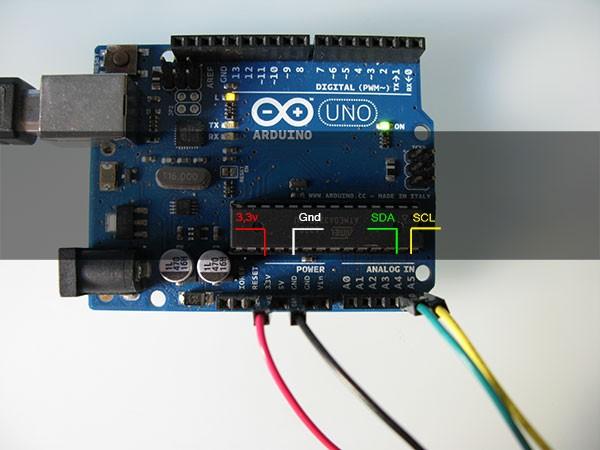 RTC DS3231 arduino pin