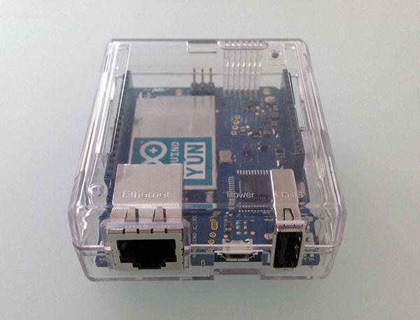 arduino yun case front