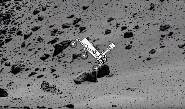 rover robot microgravity