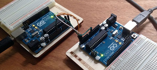 Comunicazione I2C arduino to arduino collegamenti