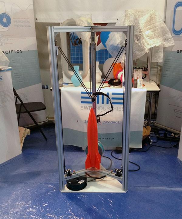 Maker Faire Rome 2015 Delta 3D